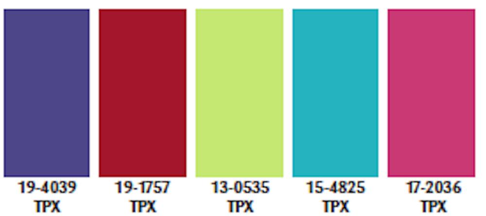 color palette spring summer 2021 trends fashion illustrator pantone update maroon pms 202
