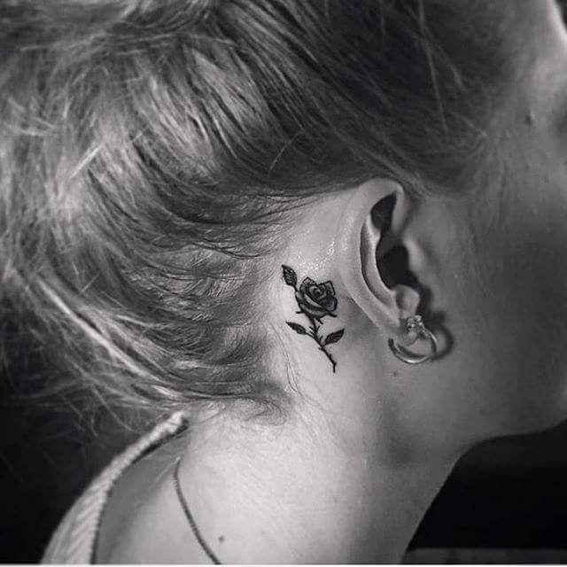 40 Inspiring Tiny Ear Tattoos That Make You Say I Need This