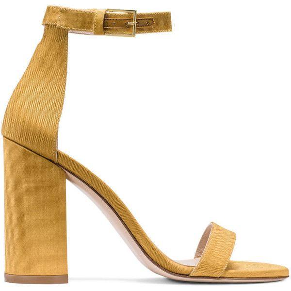 a7ed1da85e7d Stuart Weitzman 105LESSNUDIST SANDAL ( 525) ❤ liked on Polyvore featuring  shoes