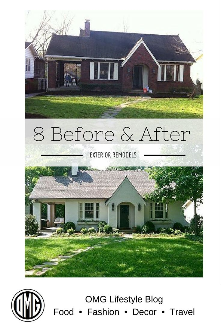 Fixer Upper Curb Appeal Before And After