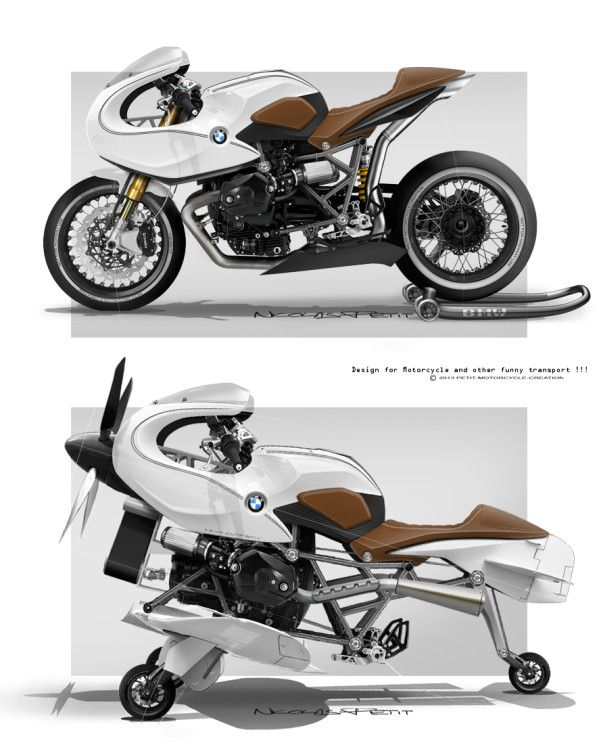 nicolas petit design / petit motorcycle creation - designer in