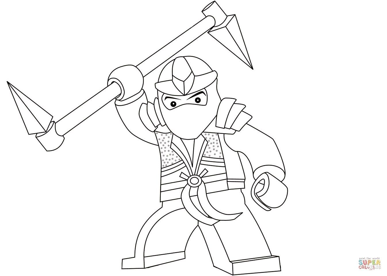Ninjago Lloyd Coloring Pages Picture di 2020