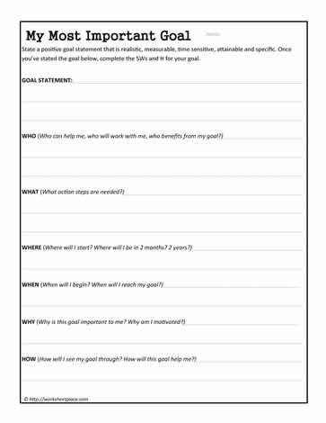 Daily Task Worksheets - Eleanor Cawley, M.S., OTR/L