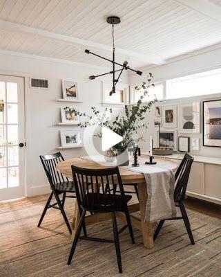 75 Perfect Round Table Dining Room Design Ideas #table  #tableware  #dining  #diningroom  #diningroomideas  #diningroomdecorating  #diningroomdecor  #diningtable  #diningtablechairs  #diningtabledesign  #roundtable  #roundtablecloth #diningroom
