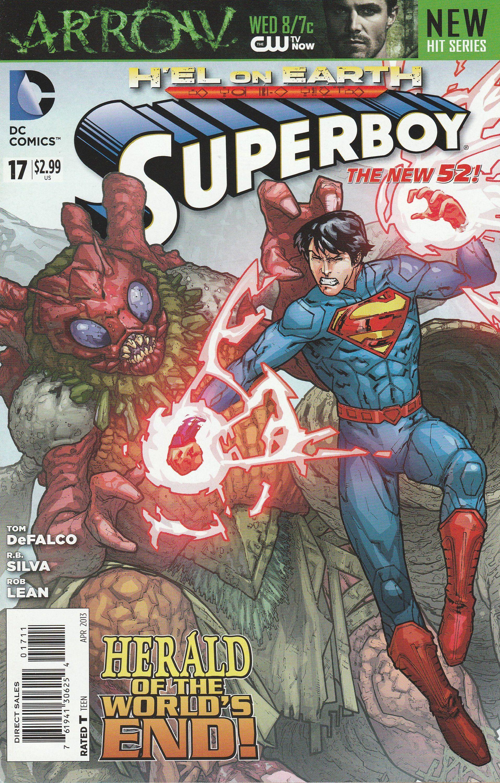 Superboy #25 New 52 2011 DC Comics