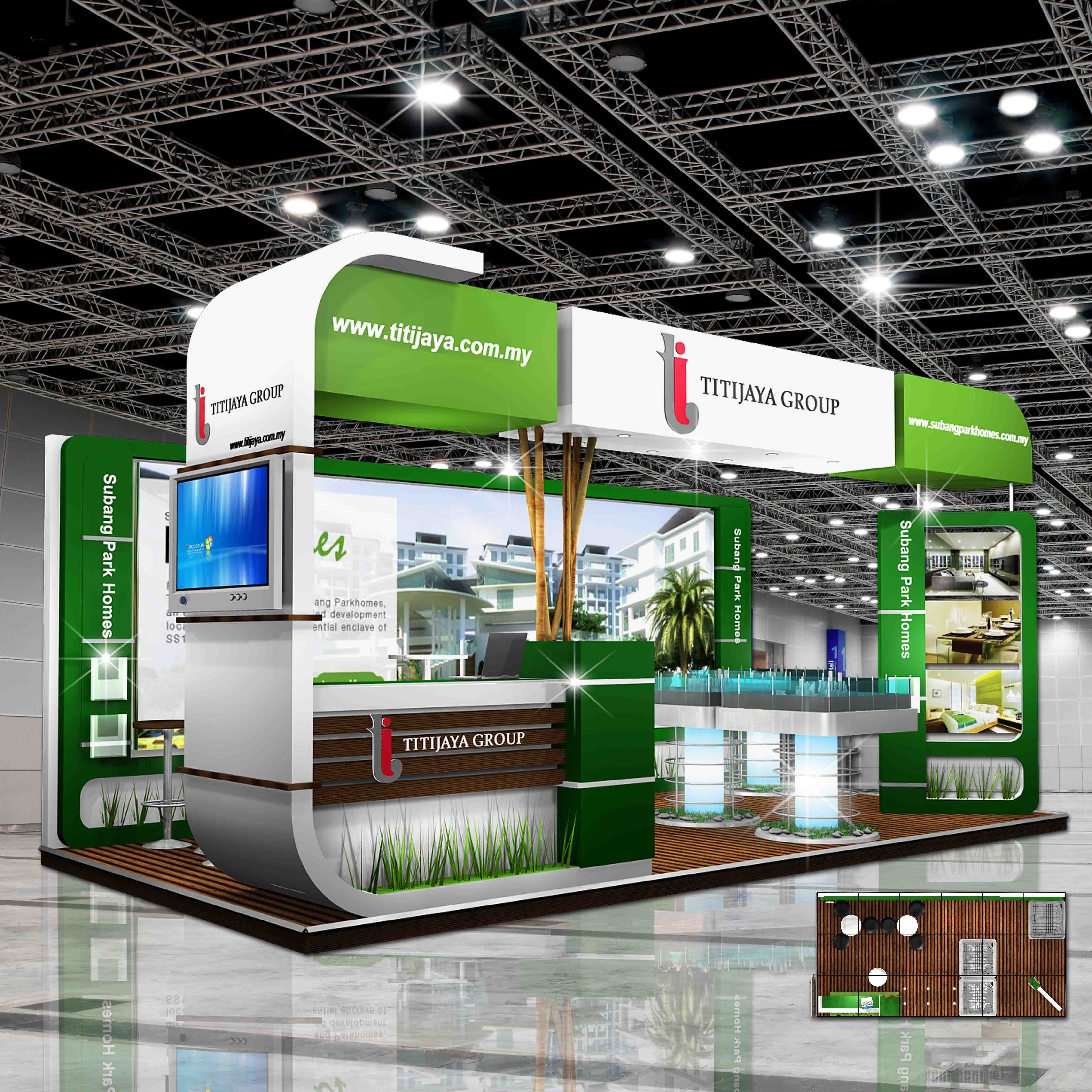 Trade Show Booth Layout : Trade show booth design exhibition creative stand