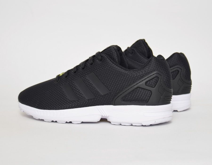 #adidas ZX Flux Black Mesh #sneakers