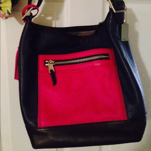 78f6d5d06282 Coach Legacy Leather Color Block Hobo Bag Like new Coach purse. Price  negotiable Coach Bags Hobos