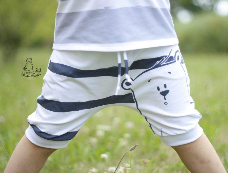 Kinderkleidung nähen kurze Hose / Shorts | Anleitung und Schnittmuster | eBook …