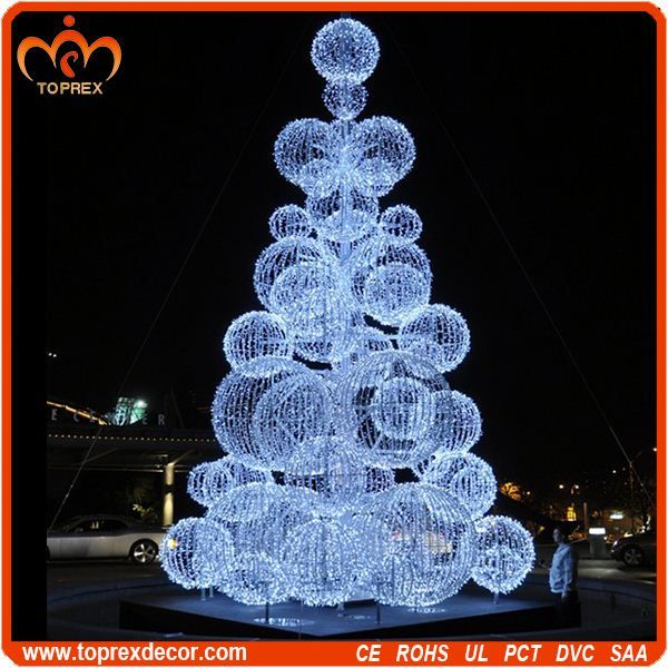 Outdoor Led String Lights Christmas Ball Tree Decorations - Buy ...