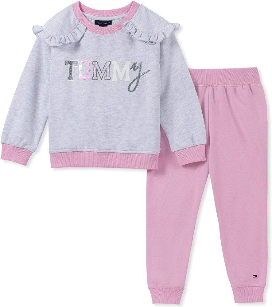 Tommy Hilfiger Girls Basic Cardigan su/éter para Ni/ñas