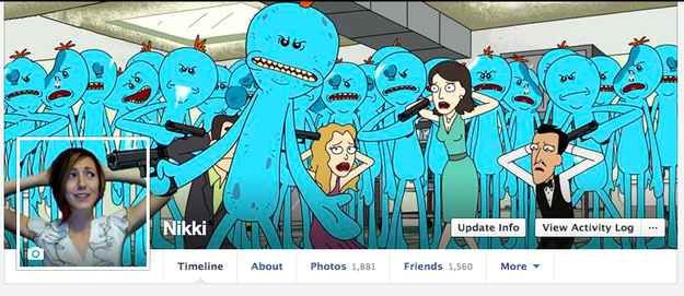 This Woman's Facebook Cover Photo Game Is Exceptionally