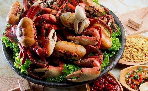 Caranguejo Gastronomia(litoral) Espirito Santo