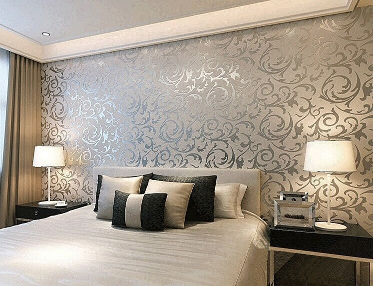 10m 3d Wallpaper Mural Roll Bedroom Living Modern European Wall Background Home Modern Wallpaper Bedroom Wallpaper Living Room Stylish Bedroom Design