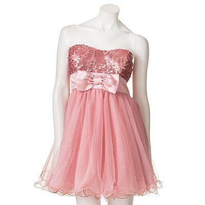 2efe6e6d4 Speechless Sequin and Glitter Tube Dress. Soooo cute!! | Dresses ...
