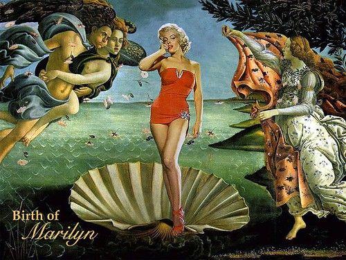 """Parody of """"The Birth of Venus"""""""