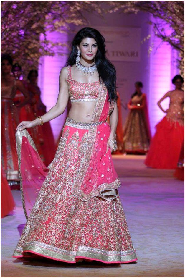indian wedding wear lehenga saree for brides 14