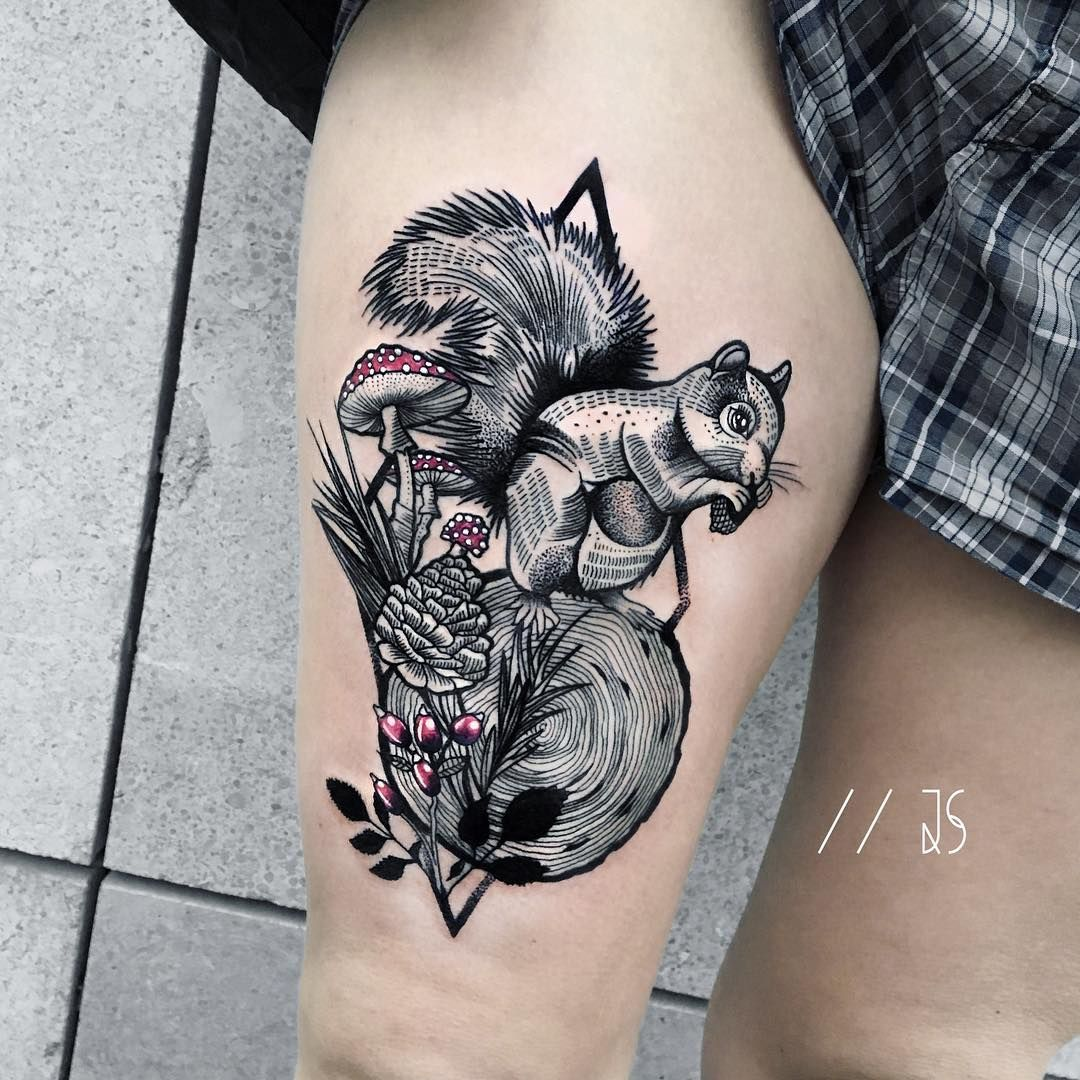 6a473705a81ff Tattoo artist Jessica Svartvit graphic, dotwork, linework, surrealistic  tattoo in authors style | Germany