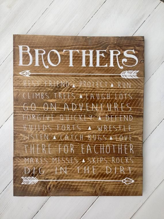 Brothers Wood Sign Boys Room Sign Boys Room Decor Rustic Boys Room Sign Shared Boys Room Decor Shared Boys Rooms Camping Room Boys Room Decor