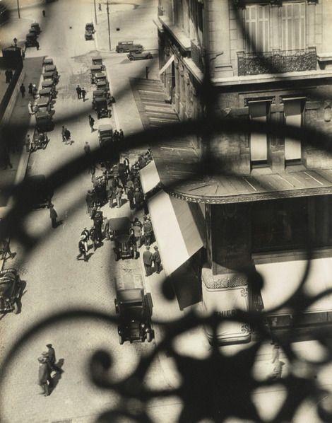 László Moholy-Nagy, Marseille, Rue Canebière', 1929 on ArtStack #laszlo-moholy-nagy #art