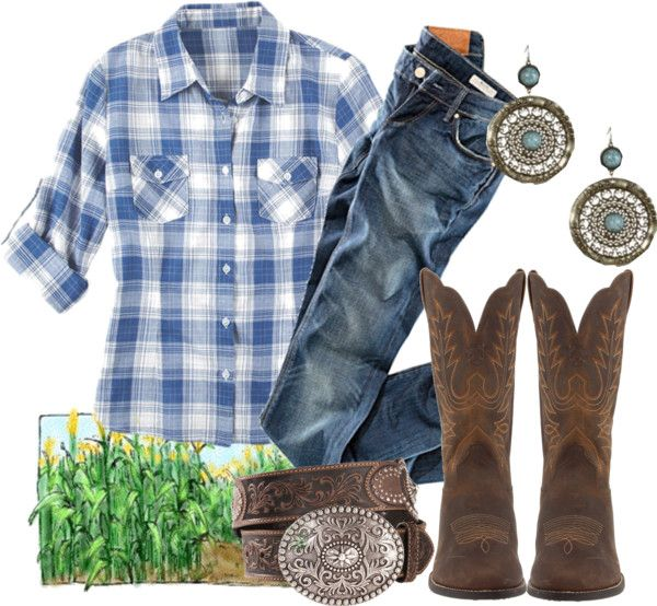 """""""Country Corn Maze"""" by qtpiekelso on Polyvore"""