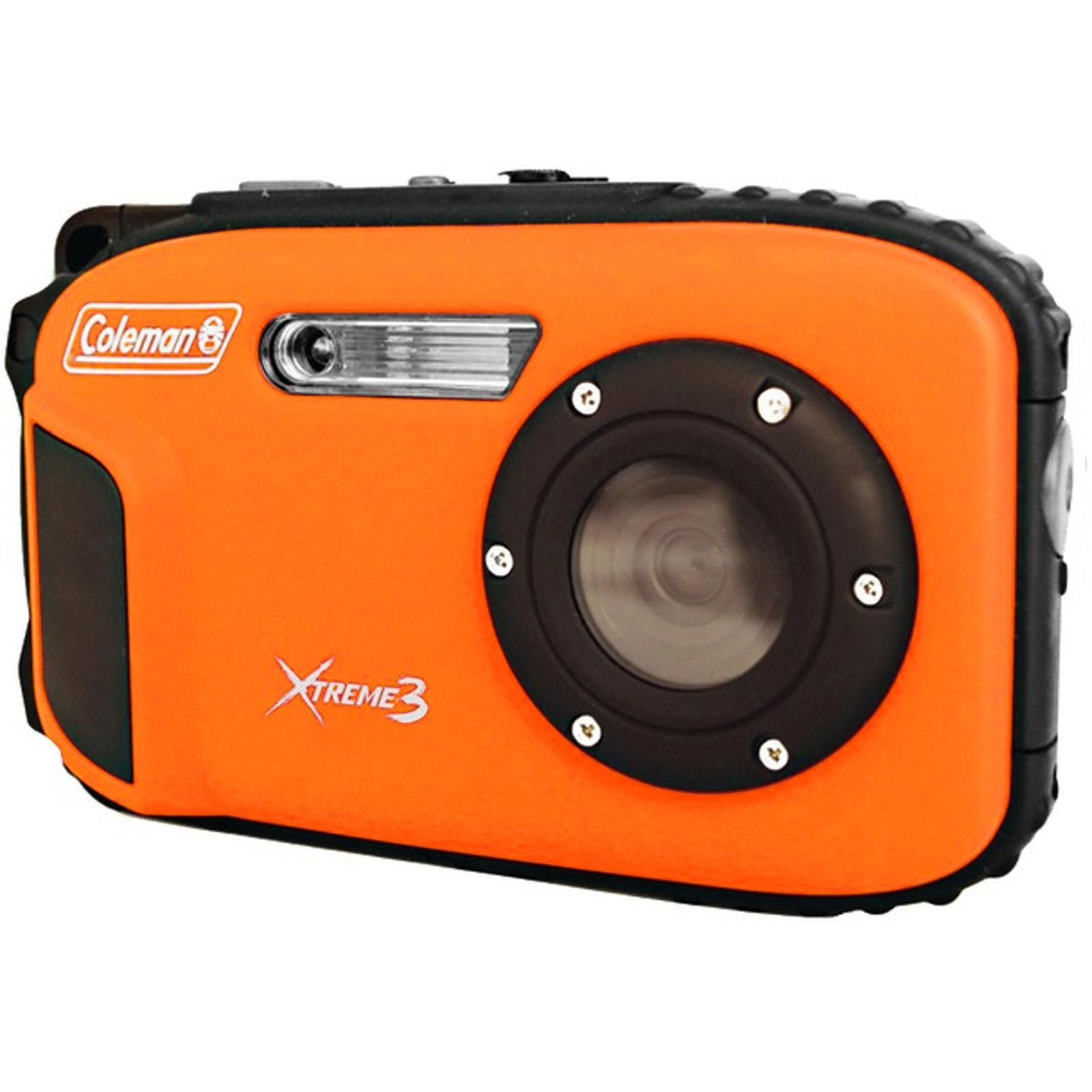 Coleman 20.0 MP-HD Waterproof Digital Camera-Orange