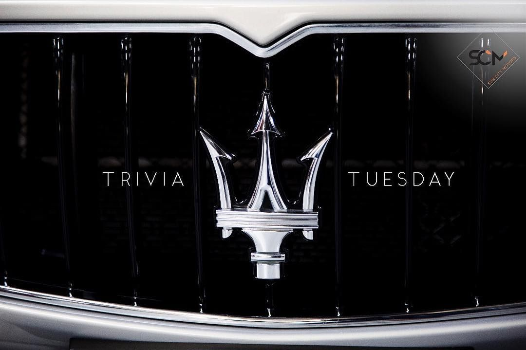 The Trident Logo Of The Maserati Car Company Is Based On The