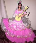 Vintage Spanish Doll Holding Guitar 1980s Spain #Doll #spanishdolls