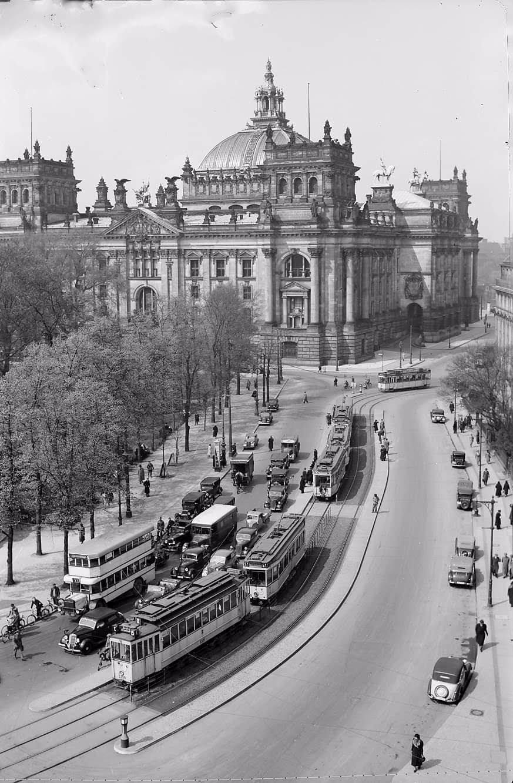 1932 Berliner Reichstag Brandenburger Tor Hauptstadt Berlin