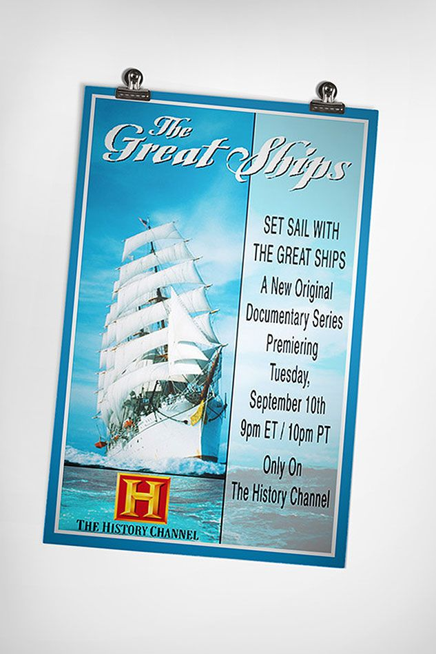 The History Channel | The Great Ships Documentary Series Advert