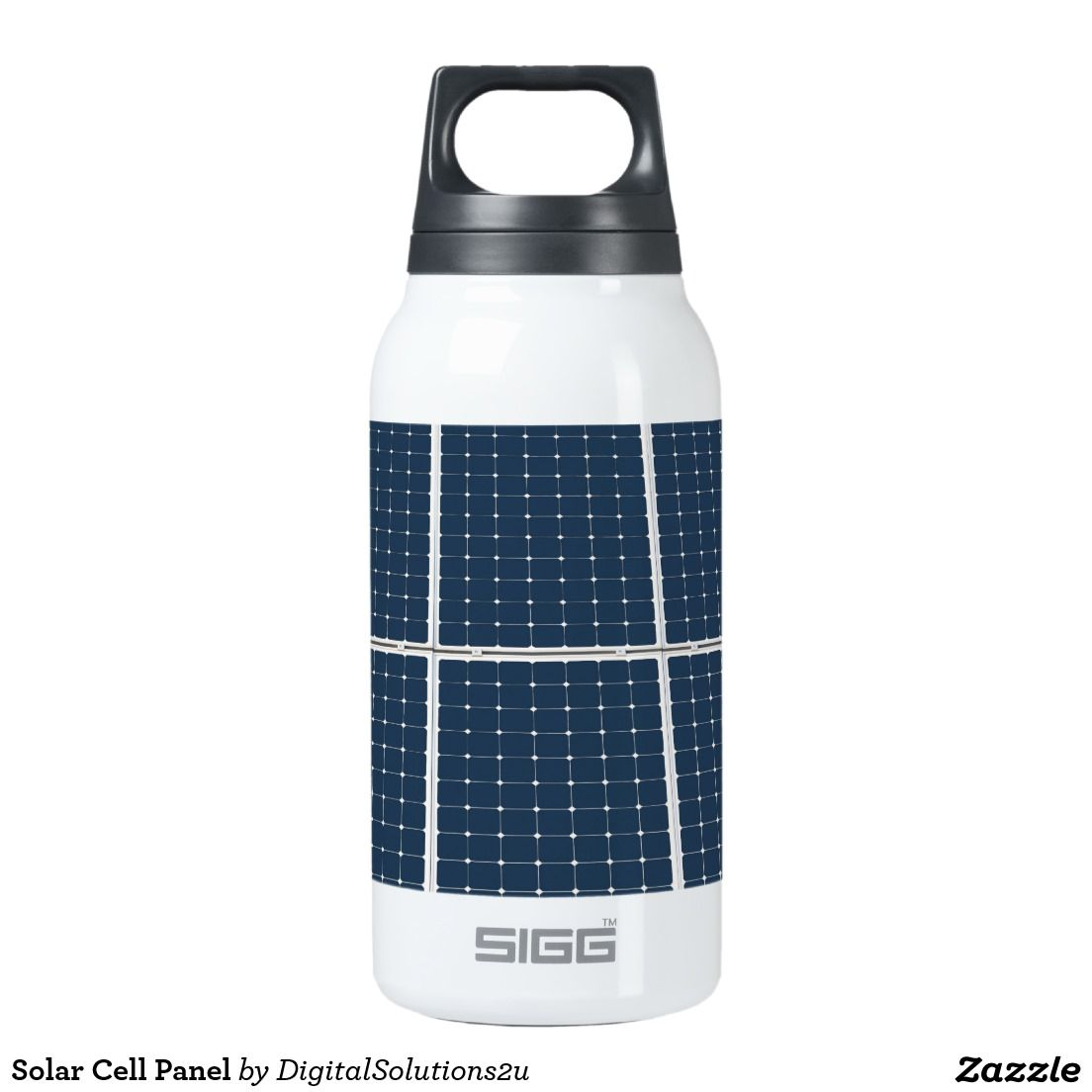 Thermos Bottle Solar Cell Insulated Oz Sigg Water Panel 10 dorBeWCx