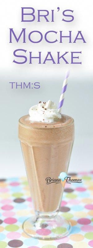 is my healthy version of a Shake! It's and sugar free - and totally creamy and delicious!