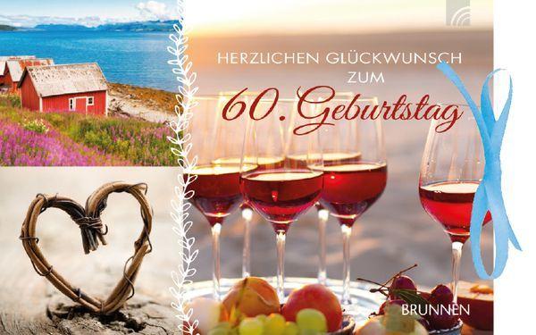 Gutscheinbuch Herzlichen Gluckwunsch Zum 60 Geburtstag Brunnen