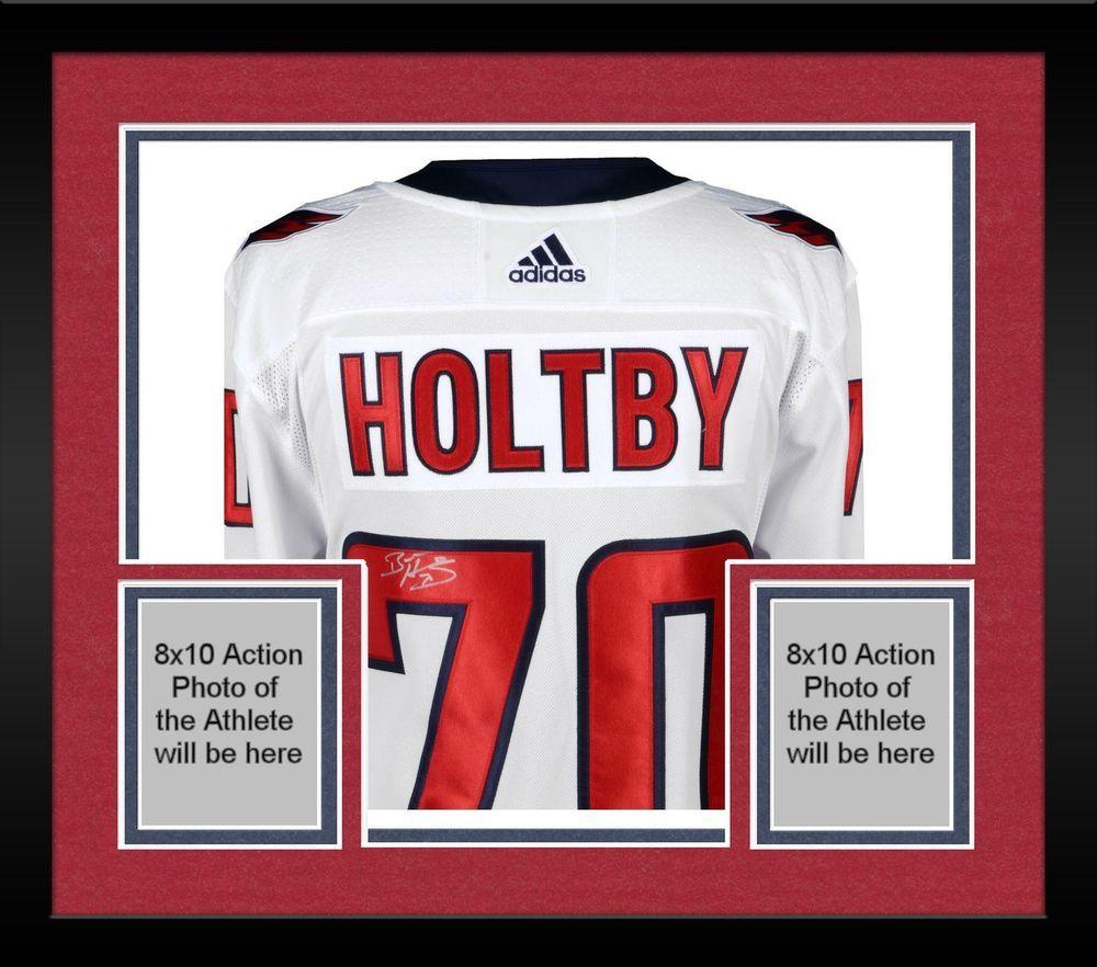 Autographed Braden Holtby Capitals Jersey Fanatics Authentic COA  Item 8792666 5be0db14d
