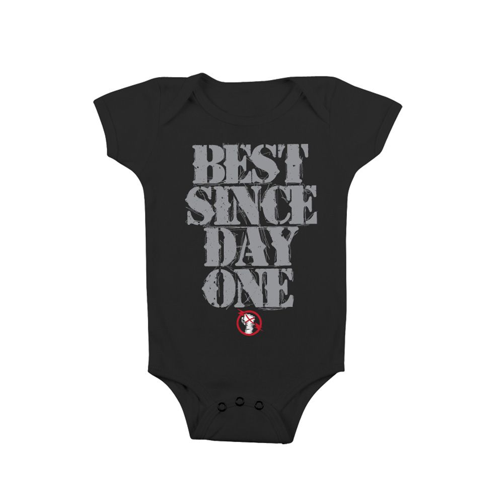 """CM Punk """"Best Since Day One"""" Onesie Creeper - for ali"""