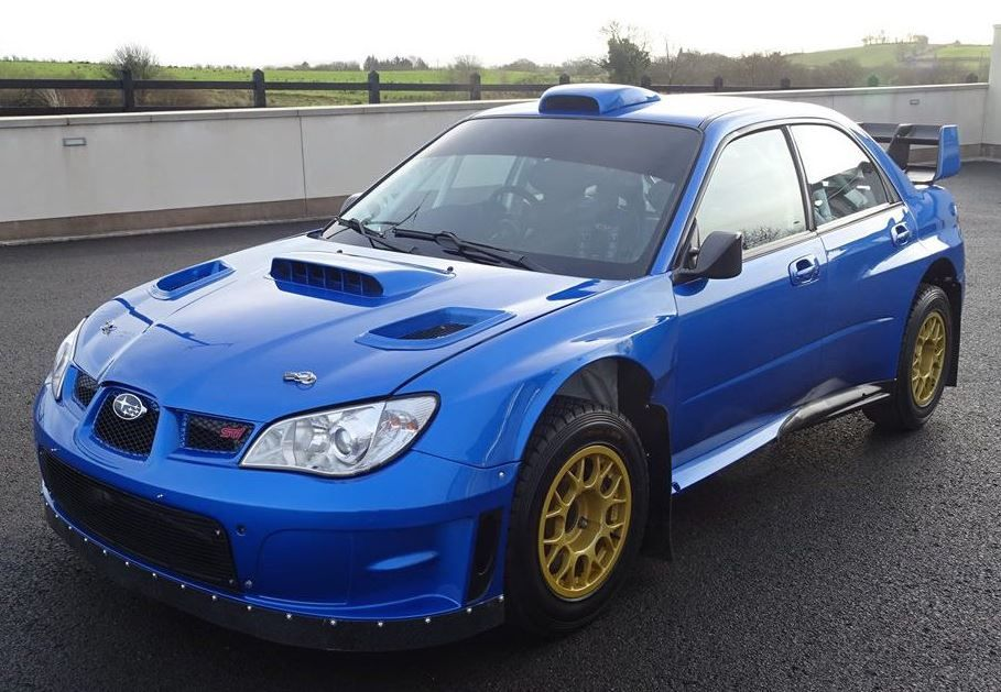 Ex Solberg Mcrae 2007 Subaru Wrx Sti Offered For Sale Carscoops Subaru Wrc 2007 Subaru Wrx Sti Subaru Rally
