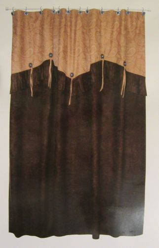 Vans Unisex Authentic Skate Shoe Western Curtains Rustic Room