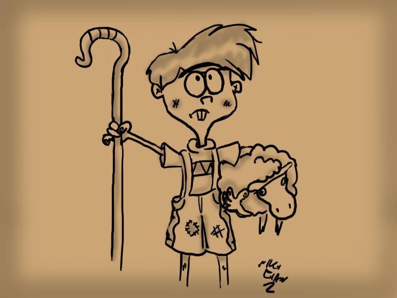 El Pastorcillo Mentiroso Dibujos Ideas Para Dibujar Cuentos