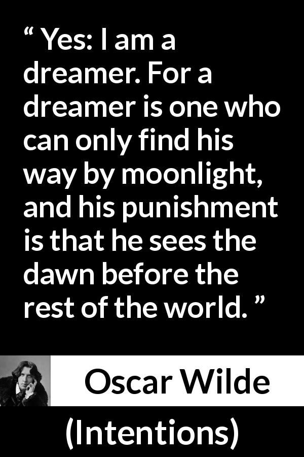 Oscar Wilde Quote About Imagination From Intentions 1891 Oscar