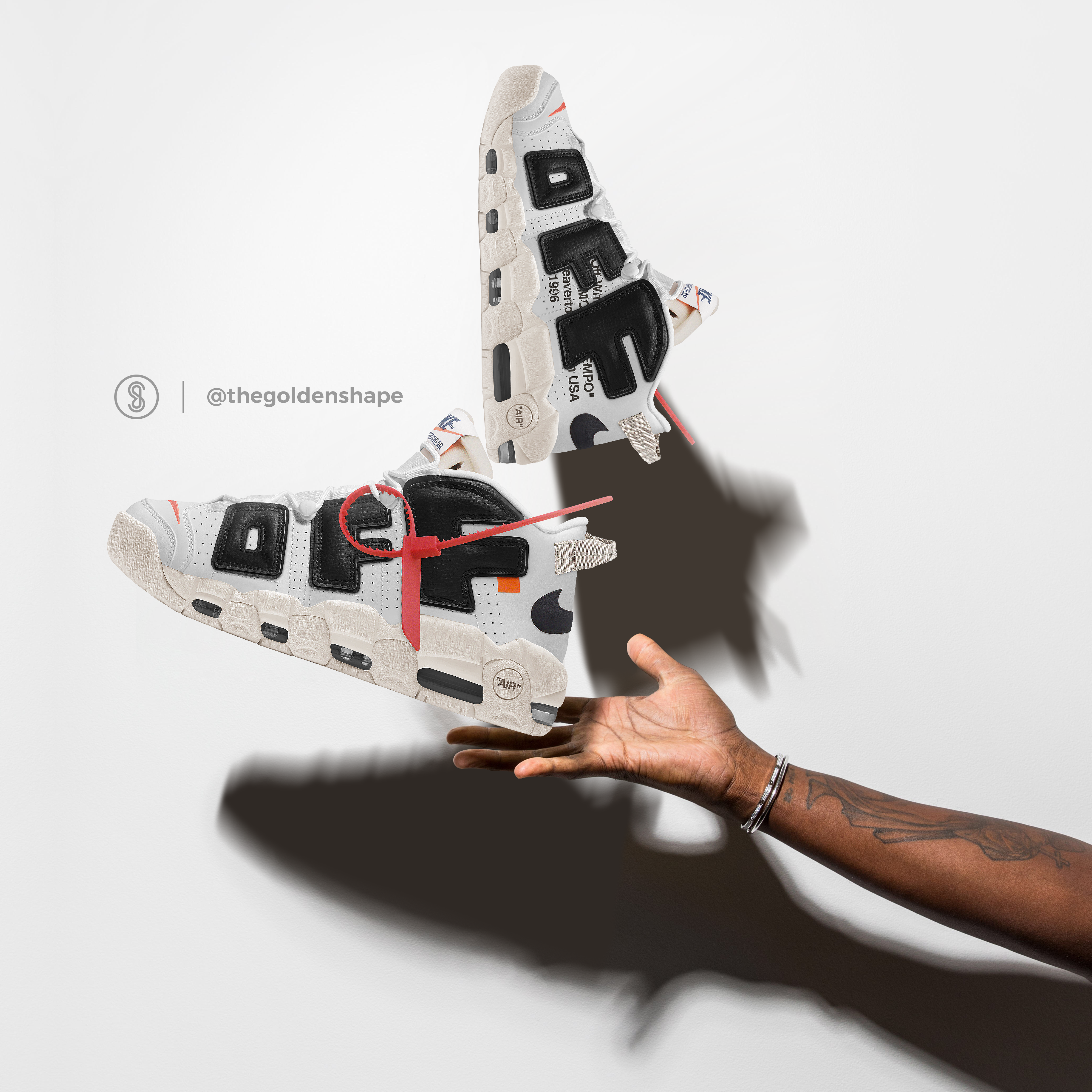 Off-White x Nike Air More Uptempo The Twelve