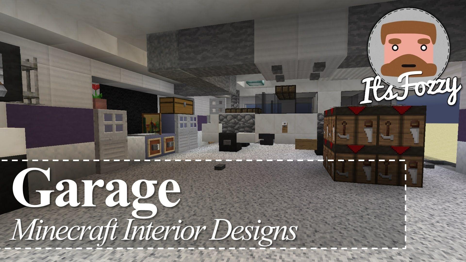 Minecraft Interior Design Garage Cool Garage Designs 85124942 Car Garage