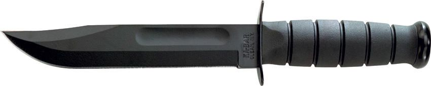Ka-Bar Full-Size Black Straight Edge - 1213 | Bronzemoon Outdoors Ka Bar Knives, Ka Bar Knives UK, Ka Bar Knives For Sale, Ka Bar Military Knife, Ka Bar Military