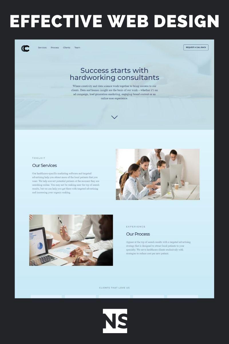 Effective Web Design In 2020 Simple Web Design Web Design Fun Website Design