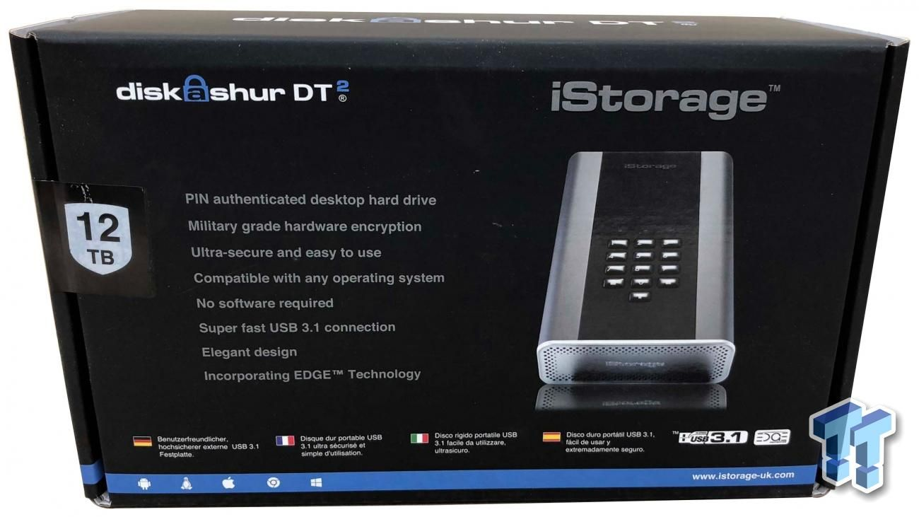 Istorage Diskashur Dt2 12tb Review Landline Phone Phone Office Phone