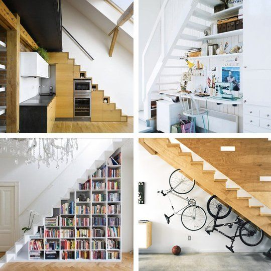 Clever Uses For The Space Under The Stairs House Stairs