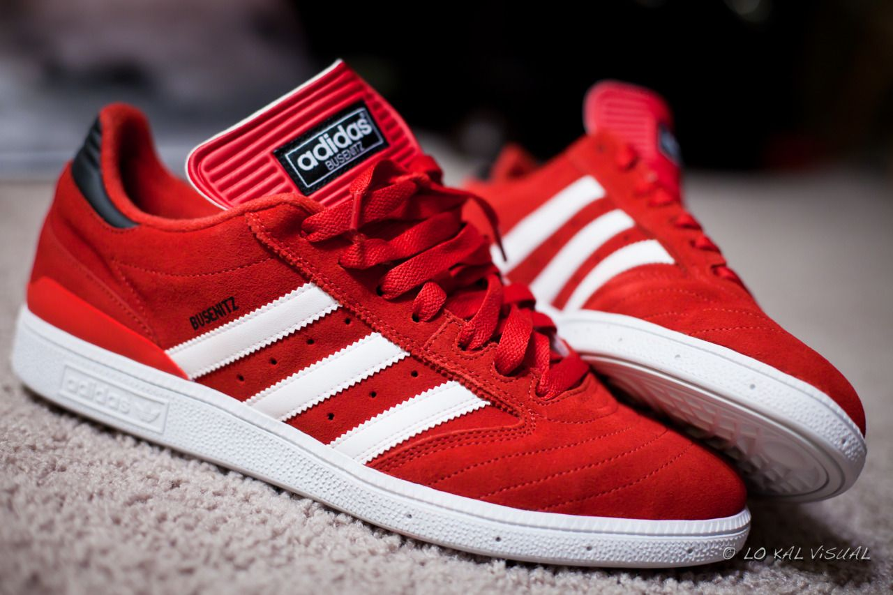 Red Adidas Busenitz