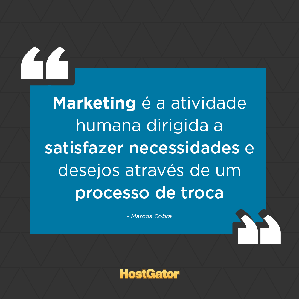 Quem trabalha com marketing concorda? ;) Marketing