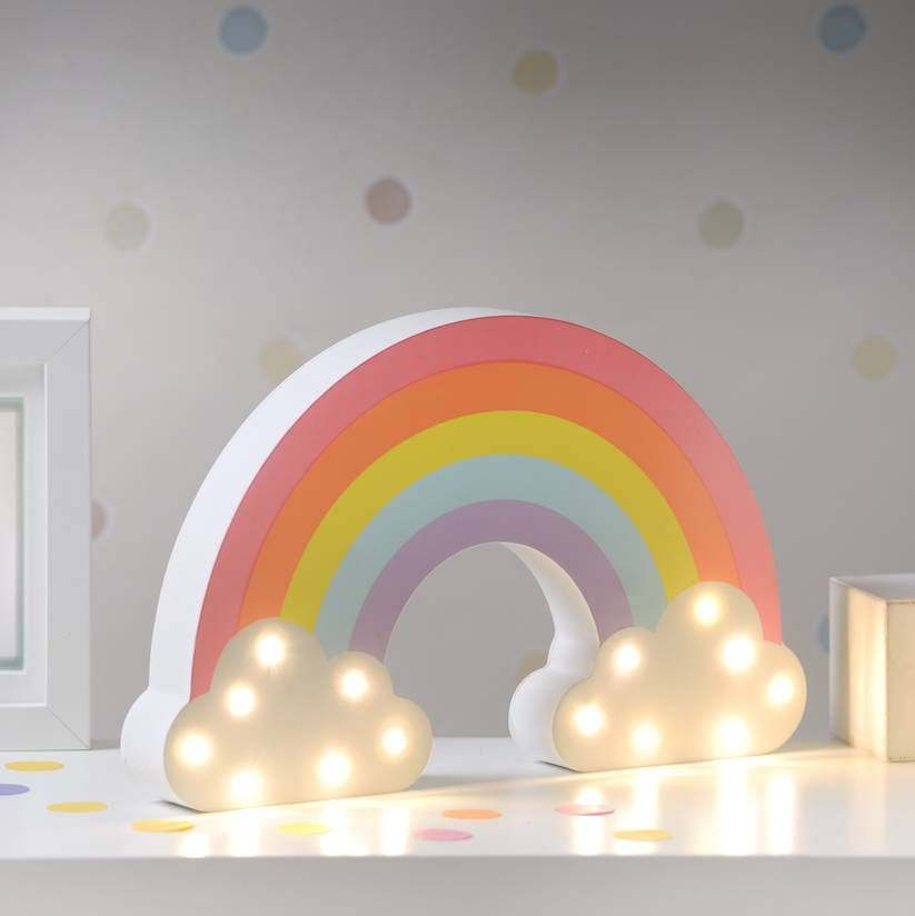Fun Night Light Switch Lamp Rainbow