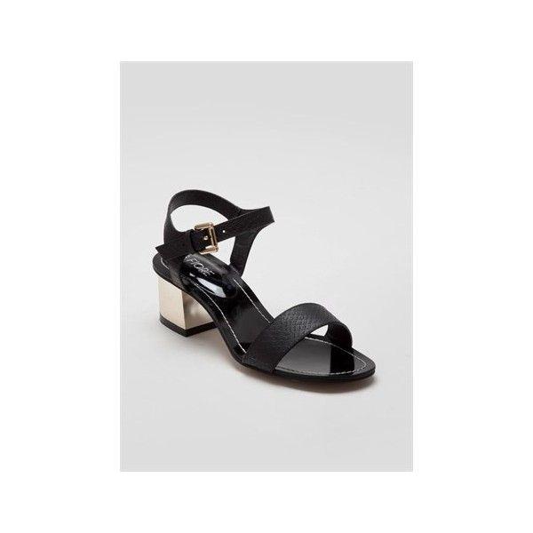 68fc2cfa6971 Mid Heel Strappy Sandals - Matalan (1.355 RUB) via Polyvore ...
