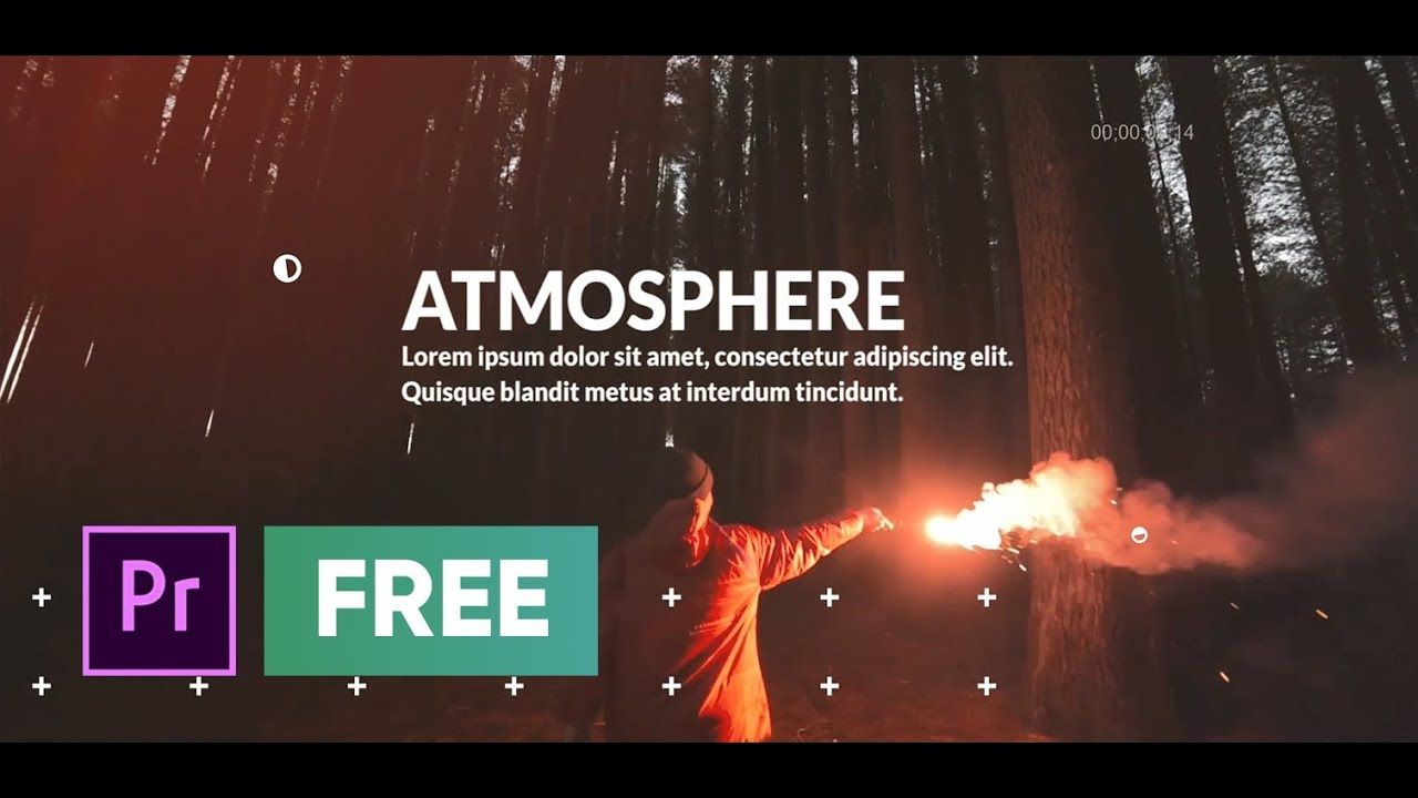 FREE Premiere Pro Template Cinematic Opener free